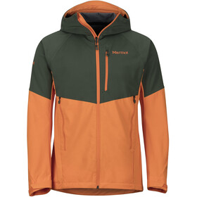 Marmot ROM Jas Heren, crocodile/mandarin orange